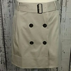Burberry 8 double button-front Pockets tan